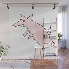 Pig Love Wall Mural