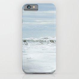 Silver Wave of El Matador Beach iPhone Case