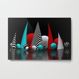 geometric horizon -5- Metal Print