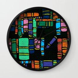 Words Defy Gravity Wall Clock