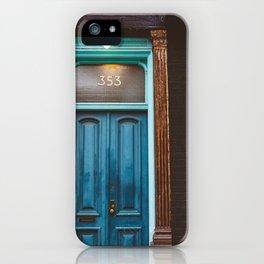 Brooklyn Door II iPhone Case