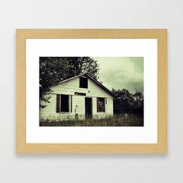 {lonely heart} Framed Art Print