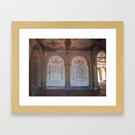 NYC Central Park Bethesda Terrace Framed Art Print