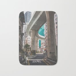 Hong Kong Street Bridge Bath Mat