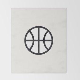 Basketball - Balls Serie Throw Blanket