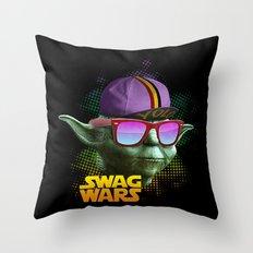 Yoda Swag Throw Pillow