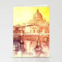 takmaj Stationery Cards featuring Rome by takmaj