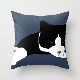 Lazy Reach Throw Pillow