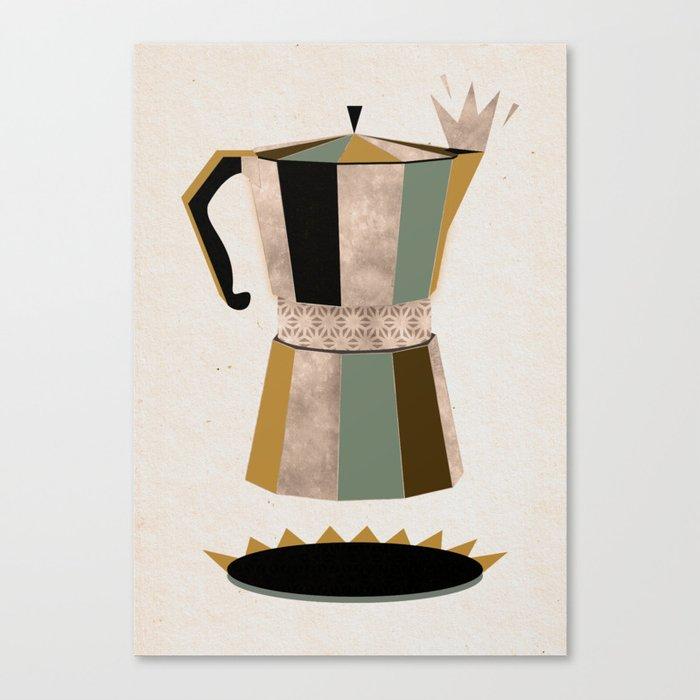 Late Night Coffee Canvas Print