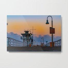 Early Morning San Clemente Pier Metal Print