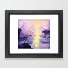 Halcyon Framed Art Print
