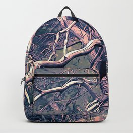 dead forest fallen trees x Backpack