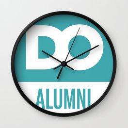 DO Alumni Wall Clock