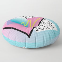 Memphis pattern 41 - 80s / 90s Retro Floor Pillow