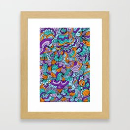 Perry Eyes - What Can You Find? Framed Art Print