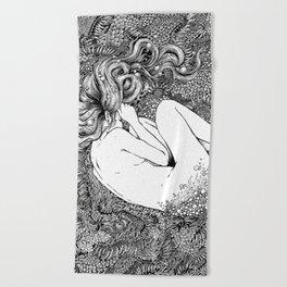 Birth of Venus Beach Towel