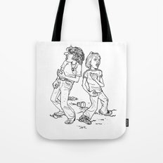 Don't Fight It, Feel It. Tote Bag