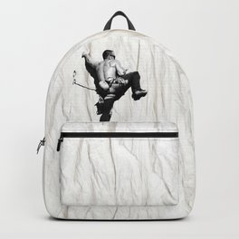 Climbing a Wrinkle Backpack