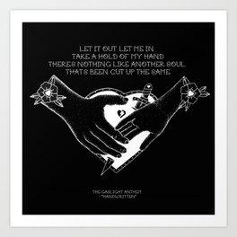 """The Gaslight Anthem - """"Handwritten"""" Art Print"""