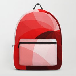 Monochromatic red Backpack