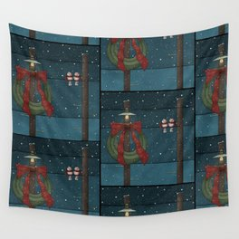 There's a Feeling of Christmas Wall Tapestry