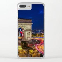 Arc de Triomphe in Paris Clear iPhone Case