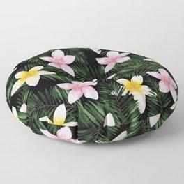 Leave Me Aloha in Black Floor Pillow