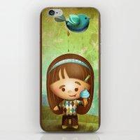 poop iPhone & iPod Skins featuring Bird Poop by Sarita Kolhatkar