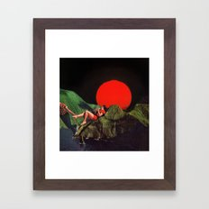 DRAG Framed Art Print