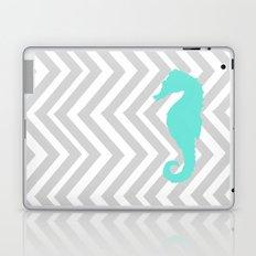 Chevron Seahorse Laptop & iPad Skin