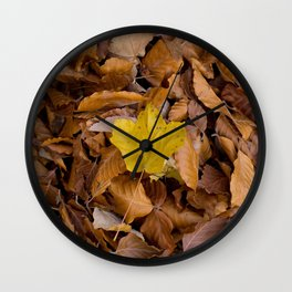 be different!  Wall Clock
