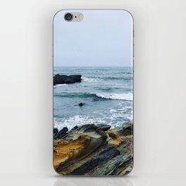 Break Water iPhone Skin