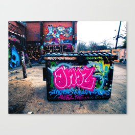 Amazed Grafitti Canvas Print