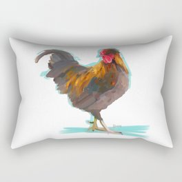 The Rooster Rectangular Pillow