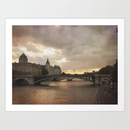 The French are so Dramatic Art Print