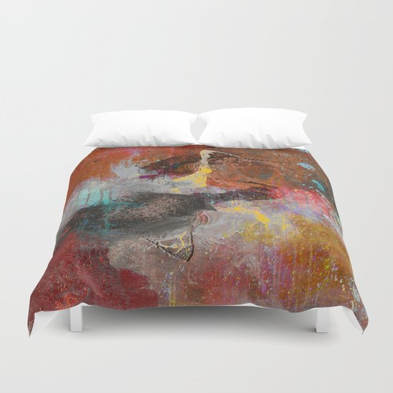 catch the shape Duvet Cover