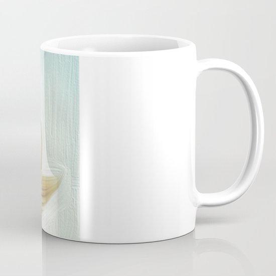 golden hair Mug