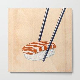 Niguiri Sushi  Metal Print