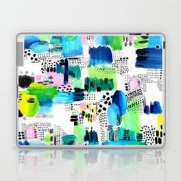 Playful Collage Laptop & iPad Skin