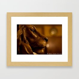 Lion Head by Igh Kihl Media/Piffington Kushfield Photography Framed Art Print