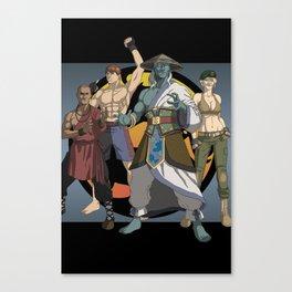 Mortal Kombat: Warriors of Light Canvas Print