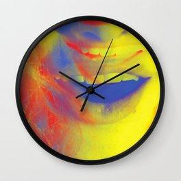 Linda Scott's Primary Colors Wall Clock