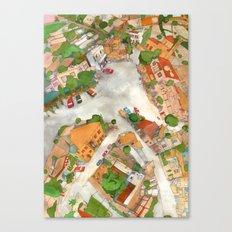 Tala Square Canvas Print