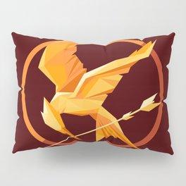Golden Bird Pillow Sham