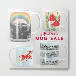 MUG SALE ! 5$off and free shipping! WOOHOO! Metal Print