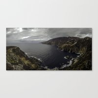 league Canvas Prints featuring Slieve League by cmphotography