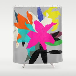 lily 12 Shower Curtain