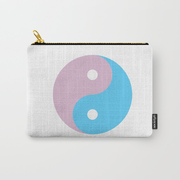 Transgender Yin Yang Symbol Carry All Pouch By Lgbt Society6