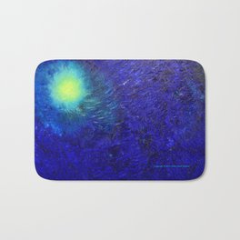 """Forming The Pacific Rim"" Oil Painting Bath Mat"