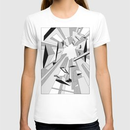 Radial Boxes T-shirt